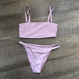 Pacsun lavender bikini